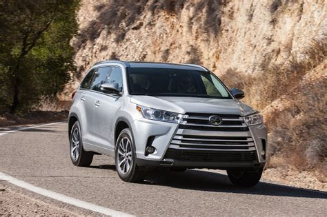 toyota highlander 2017 toyota highlander 8 things to motor trend