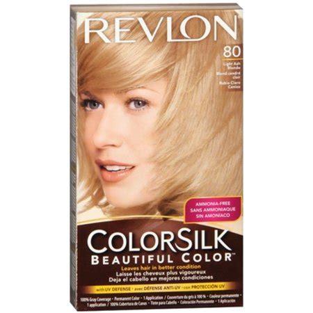 revlon hair color reviews revlon colorsilk hair color 80 light ash 1 each