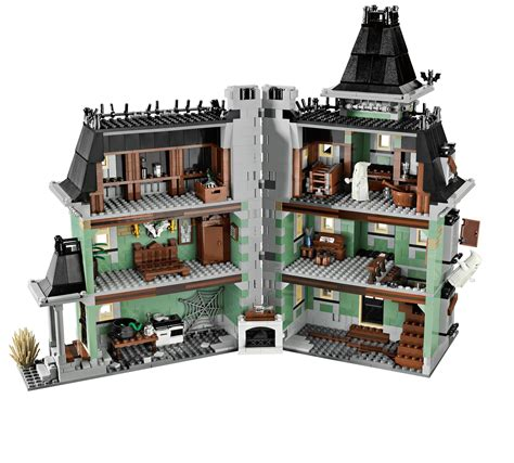 lego haunted house lego 10228 monster fighters the haunted house i brick city