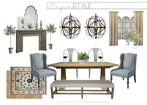 napa valley home decor remodelaholic a napa inspired dining room old world