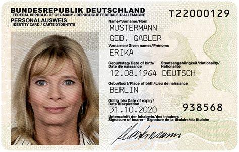 Bnd Bewerbung Alter Personalausweis Deutschland