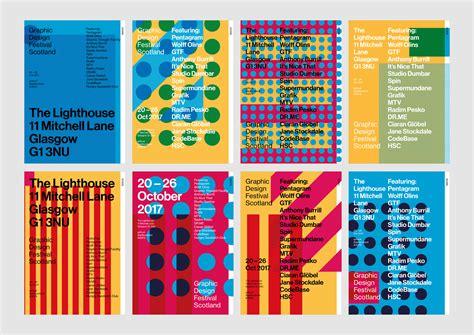 menu design glasgow graphic design festival scotland identity