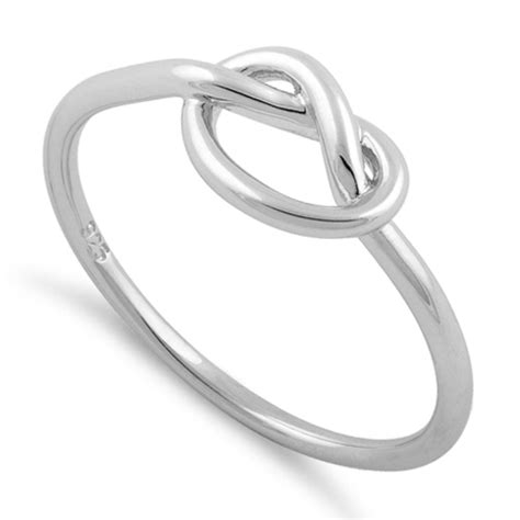 Sterling Silver Knot Ring sterling silver knot ring for sale sterling silver rings