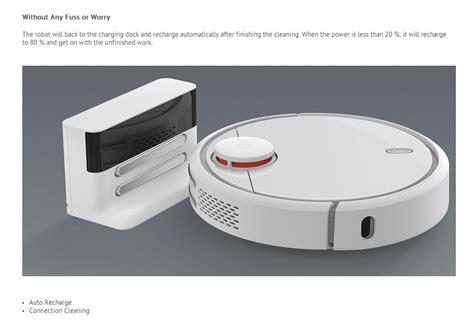 Xiaomi Mi Robot Vacuum Cleaner 2017 original xiaomi mi robot vacuum lds app smart vacuum cleaner white ebay