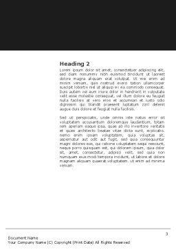 Word Vorlage Zweite Seite Feuer Word Vorlage 03282 Poweredtemplate