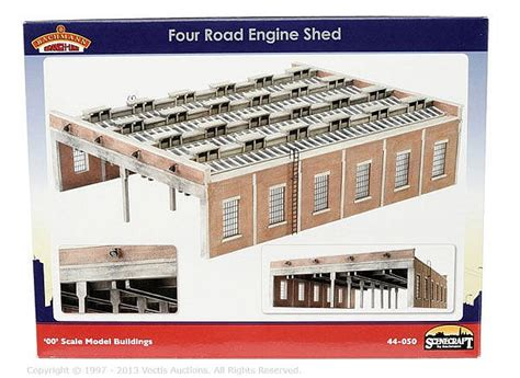 Bachmann 4 Road Engine Shed by Bachmann Oo Scenecraft 44050 4 Road Engine