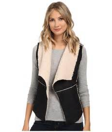dollhouse vest dollhouse shearling vest black 6pm
