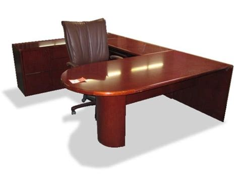 Used Wood Desk by Used Wood Executive Desks And Pre Owned Office Furniture