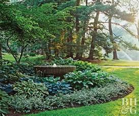 halbschatten garten hosta filled shade garden
