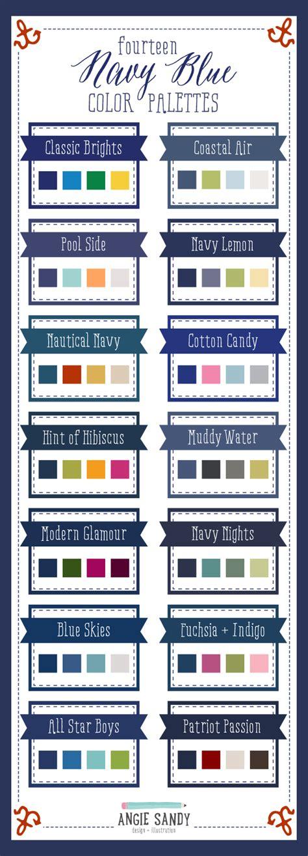 home decor color palettes 14 navy blue color palettes angie sandy design