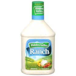 Ranch by Extra Zesty Ranch Dressing