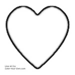 valentine heart coloring