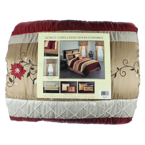 Sunham Home Fashions Quilts by Sunham Home Fashions New Lynette Quilted Comforter Set