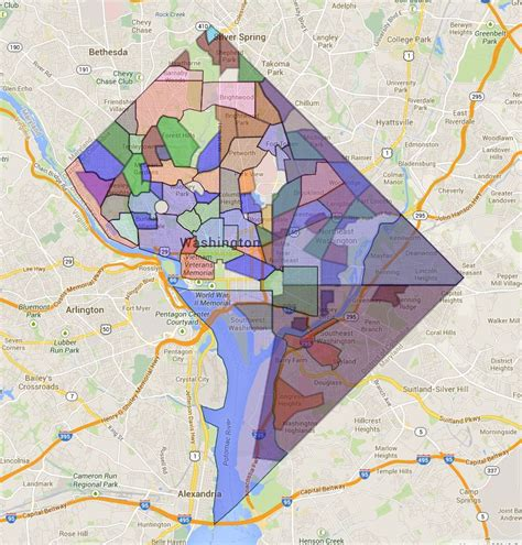 dc neighborhood map home blankslate