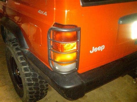 jeep xj light guards light brush guard jeep forum