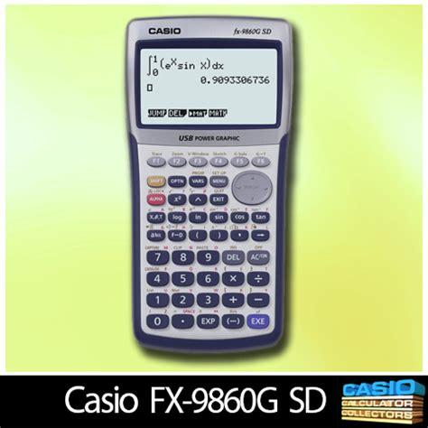 tutorial casio fx 9860gii sd casio fx 9860g driver for windows 7