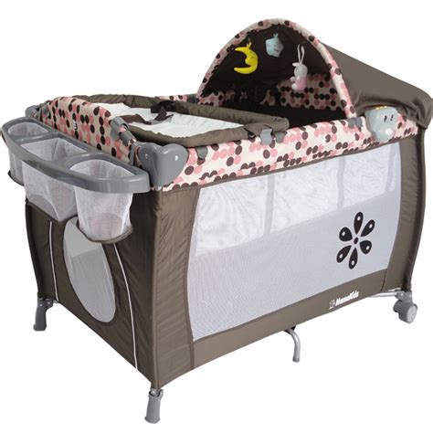 travel beds for babies new pink mamakiddies portable travel baby cot playpen