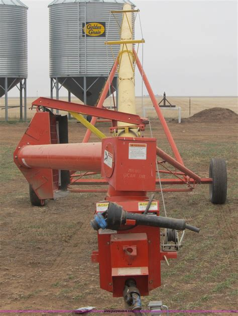 swing away auger for sale westfield mk 80 51 grain auger item a5208 sold