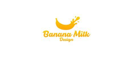 milk design firm modern bold it company logo design for banana milk