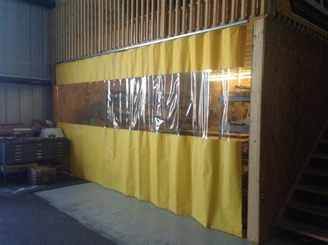 Garage Divider Curtains Akon Curtain And Dividers