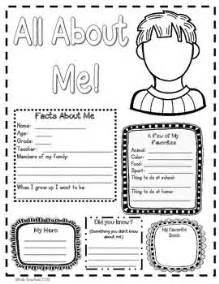 About Me Template For Students by Best 25 All About Me Poster Ideas On Birthday