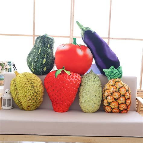 alibaba durian 2017 1pcs about50cm fruit pillow durian pineapple strawberry