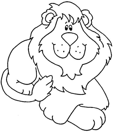 dibujos infantiles leones le 243 n para ni 241 os hd dibujoswiki com