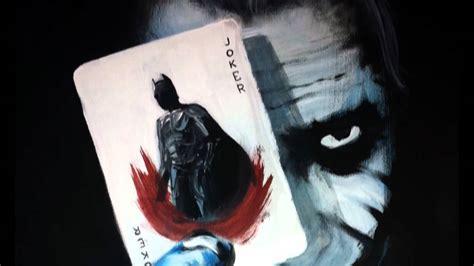acrylic painting of joker the joker acrylic painting
