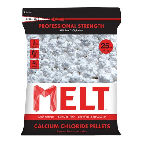 snow joe 25 lb professional strength calcium chloride