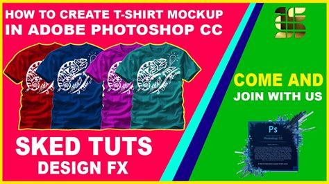 design a t shirt in photoshop tutorial photoshop tutorials how to create a realistic t shirt