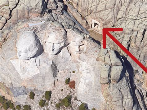 hidden room behind mount rushmore the hidden room behind mount rushmore rare pictures
