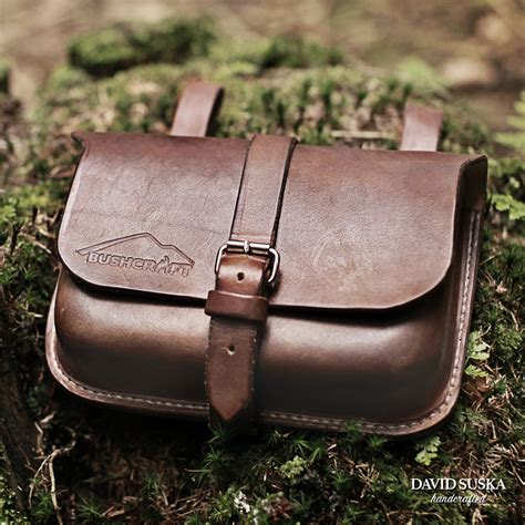 belt pouch leather belt pouch bushcraft pouch outdoor adventure belt