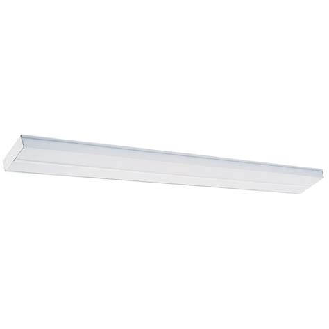 T12 Light Fixtures Lithonia Lighting 4 Ft T12 Fluorescent Cabinet Light 2uc 40 120 M6 The Home Depot