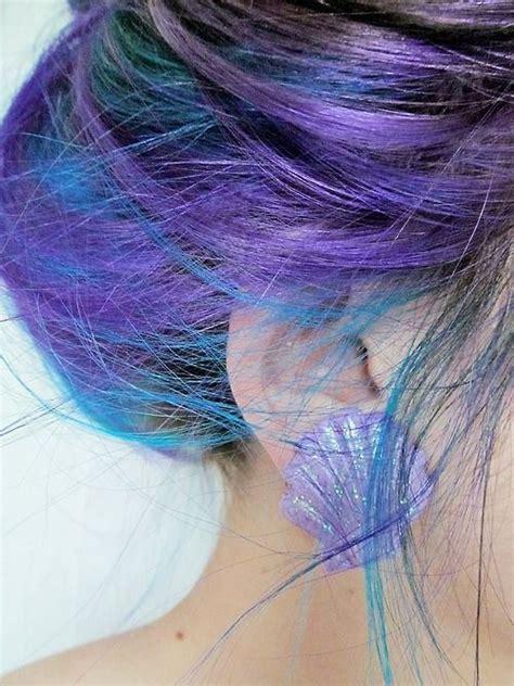 Lila Top Teal White diy hair 10 ways to dye mermaid hair bellatory