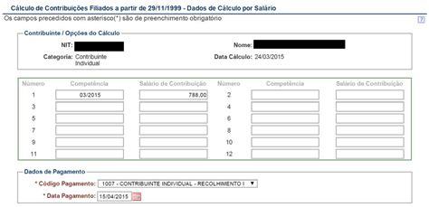 valor da contribuio da guia gps fevereiro 2016 como gerar guia da previd 234 ncia social gps pela internet