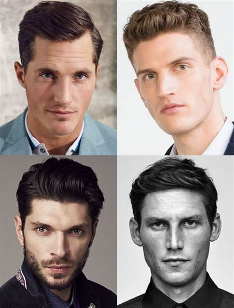 oblong shape face men hairstyle best hairstyles for men according to face shape