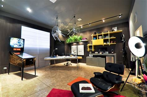 2 bright modern decor home office interior design