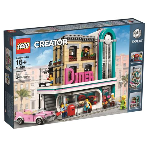 Modular Home Reviews lego creator downtown diner 10260 officially revealed