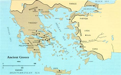 map of archaic greece social studies with mr mcginty april 2015