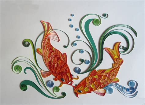 Quilling Paper Import quilled handicraft products from thanhphat import export