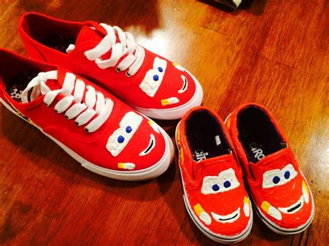 diy disney shoes the 25 best lightning mcqueen costume ideas on