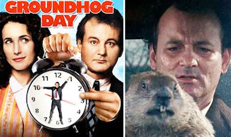 groundhog day script groundhog day original script reveals how phil was trapped
