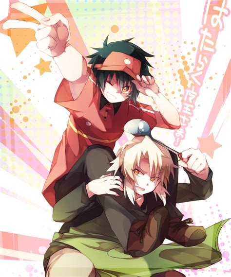 review anime hataraku maou sama hataraku maou sama review anime tree