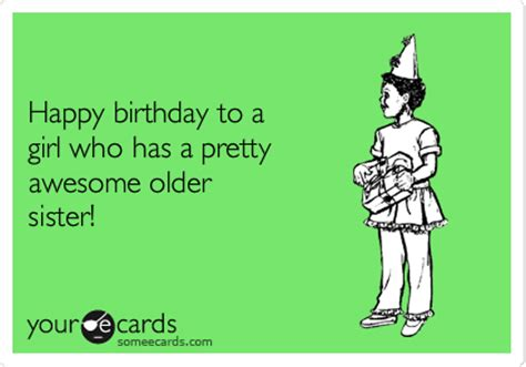Birthday Ecard Meme - happy birthday sister hbd pinterest happy birthday