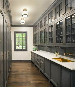 gray butler pantry kitchens best grey kitchen with peninsula design ideas amp remodel