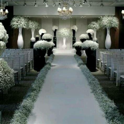wedding ceremony decor gyp wonderful black and white