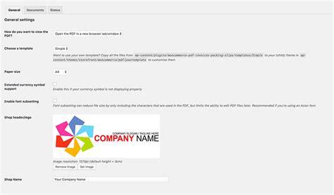 woocommerce printable invoice woocommerce pdf invoices packing slips wordpress plugins