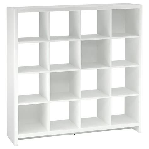 Cube Room Divider New York Skyline Plumeria White 16 Cube Bookcase Room Divider From Kathy Ireland By Bush