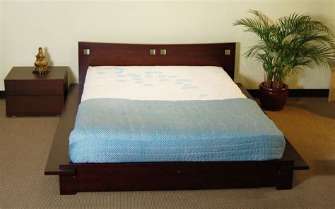 asian bed japanese platform bed furniture haikudesigns com