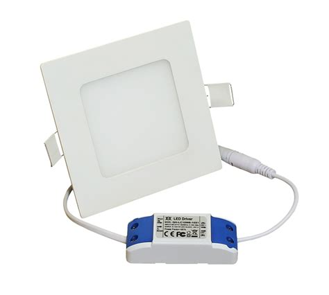 Lu Bohlam Led Strom 6w Putihkuning einbauleuchten led licht 120x120mm 450 lumen 6w lp1212h12w06k 10851